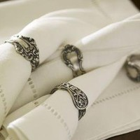 Victorian Napkin Ring, Set of 4 | Pottery Barn