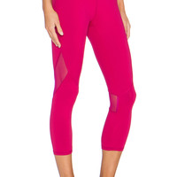ALALA Captain Crop Tight in Red