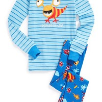 Boy's Hatley 'Creature of Habit' Two-Piece Fitted