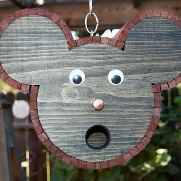 Mouse Shaped Bird House