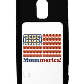 American Breakfast Flag - Bacon and Eggs - Mmmmerica Galaxy S5 Case  by TooLoud