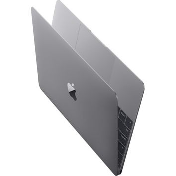 "Apple - MacBook® - 12"" Display - Intel Core M - 8GB Memory - 256GB Flash Storage - Space Gray"