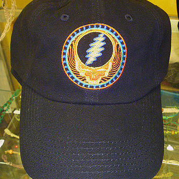 Grateful Dead Hat -  SYF Good Day Sunshine  Baseball Cap   Hippie  Deadhead  mens