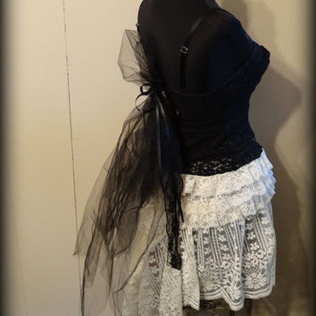 Gypsy boho gothic steampunk wedding bohemian woodland faery