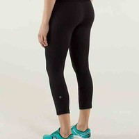 run: inspire crop ii *reflective | women's crops | lululemon athletica