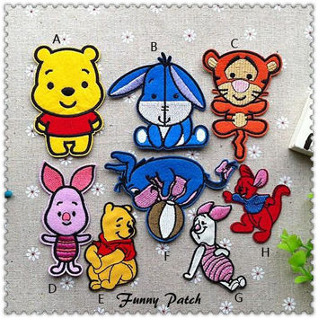 Disney Winnie the Pooh and Friends Iron on Patch 06-H