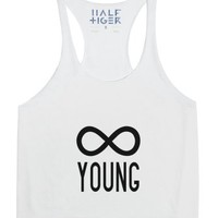 Forever Young-Unisex Snow Tank