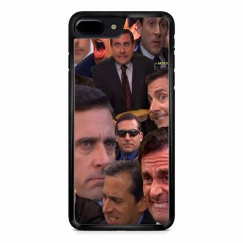Michael Scott Collage 2 iPhone 8 Plus Case
