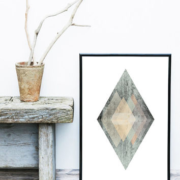 Printable Geometric Art, Scandinavian Print, Nordic Poster, Wall Art Digital Print, Minimalist Art Print, Geometric Print, Best Selling Art