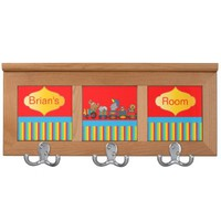 Circus Animal Fun Baby Nursery Theme Coat Rack