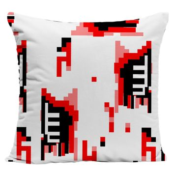 Zombie pixels Pillow