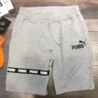 PUMA Fashion Casual Monogram Print Shorts Pants G-YF-MLBKS
