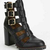 Report Ashtin Treaded Fisherman Ankle Boot - Black