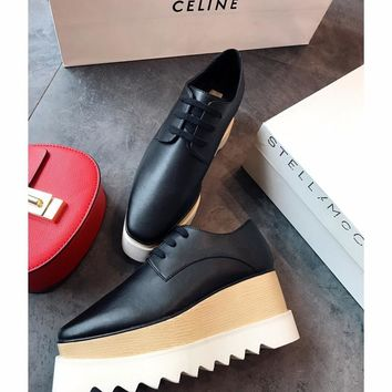 Celine STELL McC RTNEY Star Shoes Collection Classic Women's Shoes all black