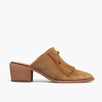The Dani Fringed Mule