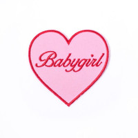 Pink Babygirl Patch