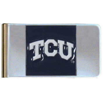 TCU Horned Frogs Steel Money Clip CMCL112