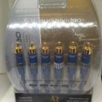 Acoustic Research AP061 Gold plated A/V connectors 044102870611