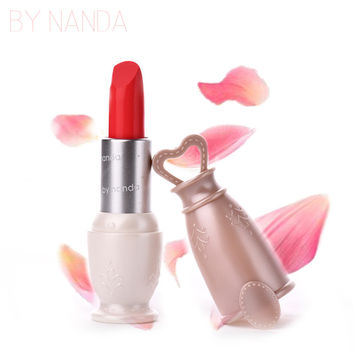 BY NANDA 12 Color Matte Lipstick 2016 New Arrival Lip Stick Brand Waterproof Long Lasting Lips Makeup Cosmetics