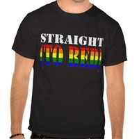 Straight (To Bed) Gay Pride Rainbow