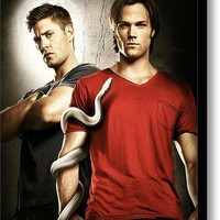 Supernatural Stretched Canvas Print / Canvas Art By Movie Prints