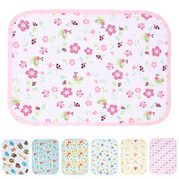 Baby Stroller Pram Waterproof Bed Reusable Nappy Sheet