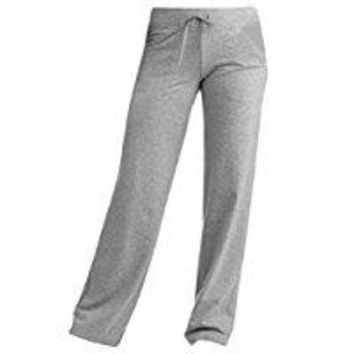 ONETOW Women's Regular Dri-More Core Relaxed Pants 32' inseam Black Yoga, Activewear