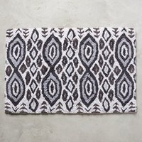 Ongamira Bathmat by Anthropologie in Black & White Size: One Size Bath