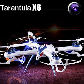 YiZhan Tarantula X6 Drone 2.4G 4CH 6-Axis RC Quadcopter Helicopter Toys Can Add 2MP or Wide Angle 5MP Camera
