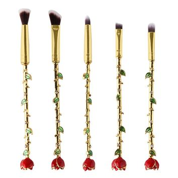 5 Pcs   Eyeshadow Brushes Set