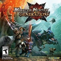 Monster Hunter Generations - Nintendo 3DS Standard Edition