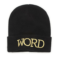 With Love From CA Word Beanie at PacSun.com
