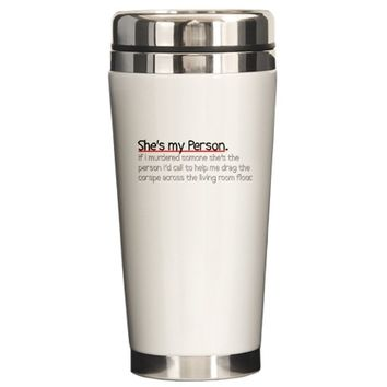 Grey's Anatomy Travel Mug by SamsPlaceApparel