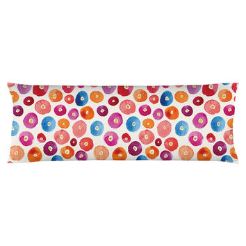 A Pop of Color Body Pillow