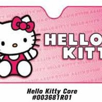 New Hello Kitty Core Front Window Fold Up Sunshade