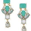 Aqua Crystal Earrings