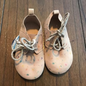 Zara Baby Lace Up Colorful Shoes