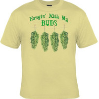 Funny MARIHUANA Tee, College Humor Weed Graphic Tee, Great Gift For Smart Ass Men And Women