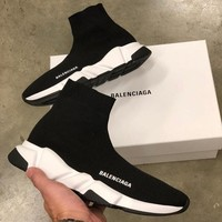 Balenciaga Woman Men Fashion Breathable Sneakers Running Shoes Sneakers