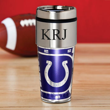 Personalized NFL Hot/Cold Tumbler 17 oz. - Colts