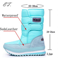 Women's snow boots winter Non-slip weatherproof  Leisure Various color free shipping 2015 hot sale