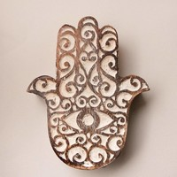 Fair Trade Hamsa Keepsake Box