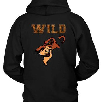 VONEED6 Scar The Wild Lion King Hoodie Two Sided