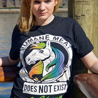 Humane Meat Does Not Exist T-Shirt