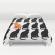 ODD CAT OUT Duvet Cover by Catspaws | Society6