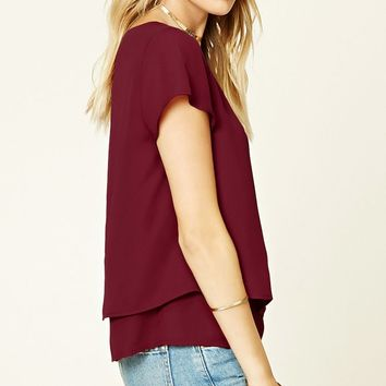 Contemporary Tiered Top