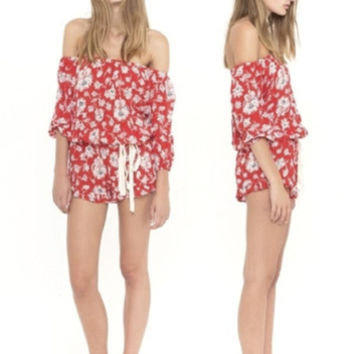 Cabana Playsuit by Faithfull the Brand
