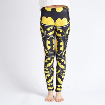 ET Batman Printed leggings-DDK0203 = 1927870916