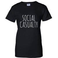 Social Casualty Graphic Tee