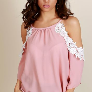 Crochet of the Day Blouse Rose